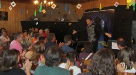 Eduardo Labella presta servicio en la subcategoría de Magos en Zaragoza