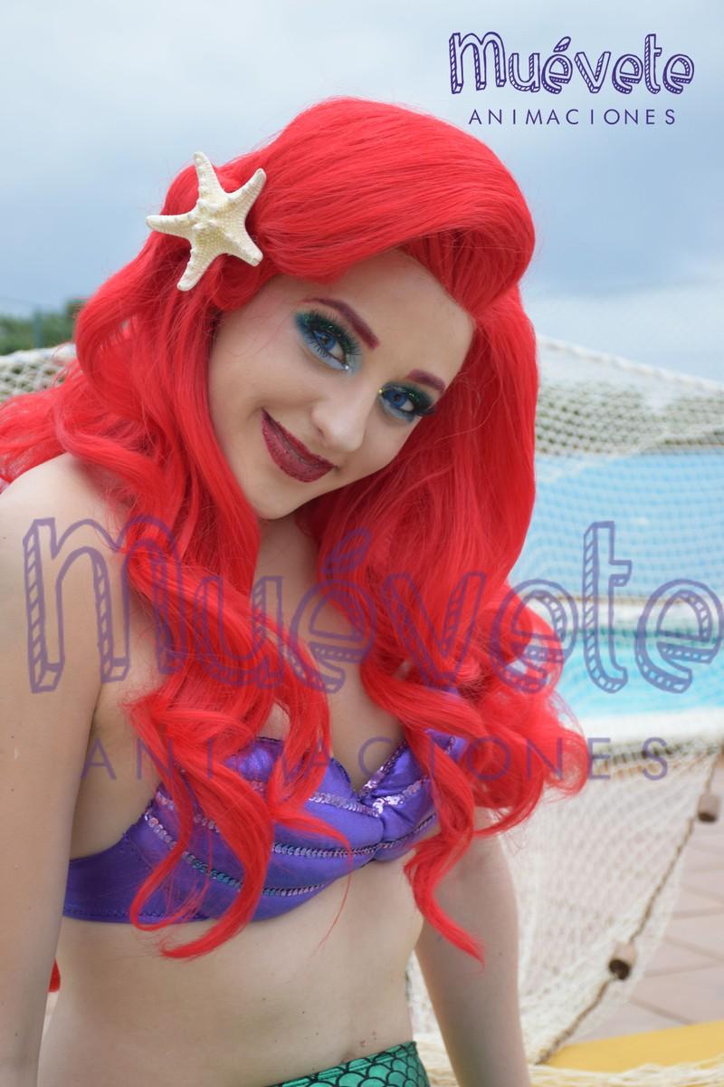 Ariel Personaje creado con las mejores técnicas de caracterización y encarnado p