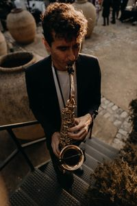 Sergio Galán - Saxofonista presta servicio en la subcategoría de Grupos de Jazz en Cádiz