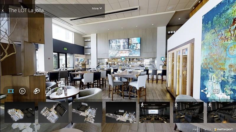 Visita Virtual 3D de Restaurante