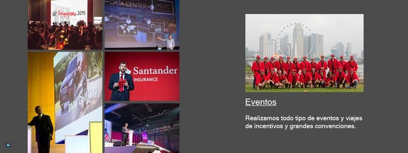 Eventos y Viajes de incentivos