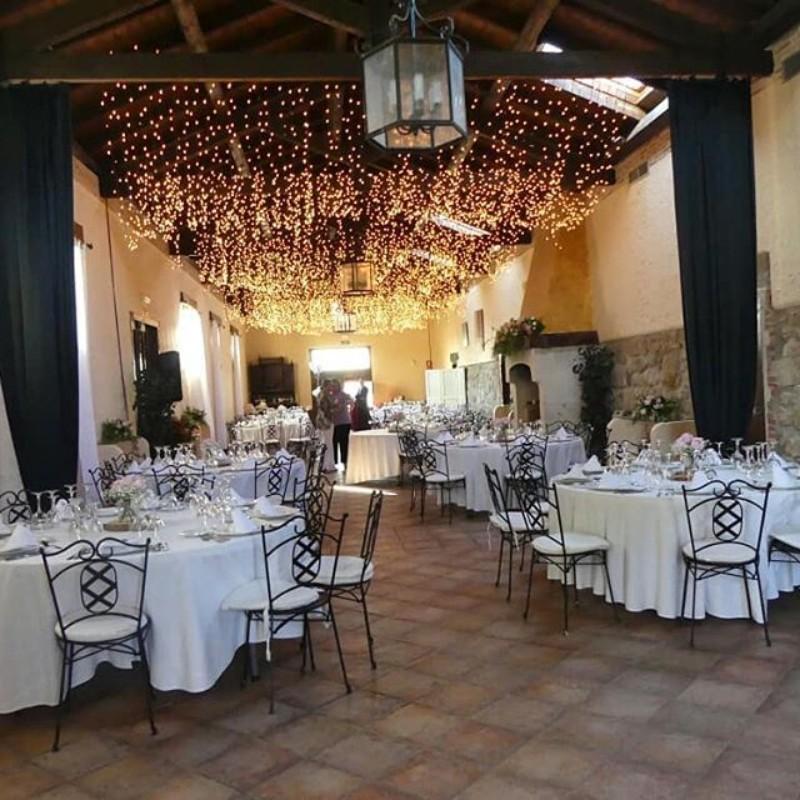Salón interior boda