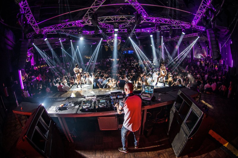DJM en sala LAB Madrid
