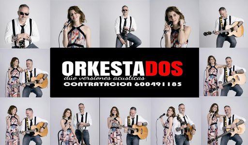 ORKESTADOS presta servicio en la subcategoría de Orquestas, cantantes y grupos en Sevilla