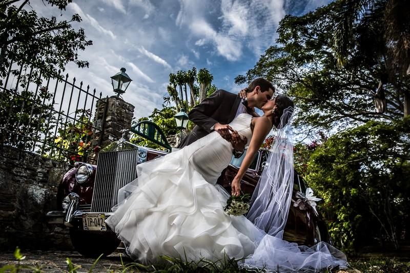 Retratos de boda