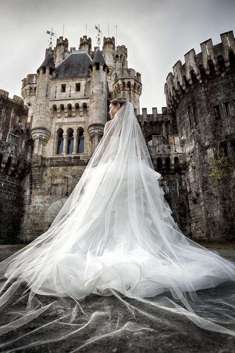 Mi vestido en un Castillo