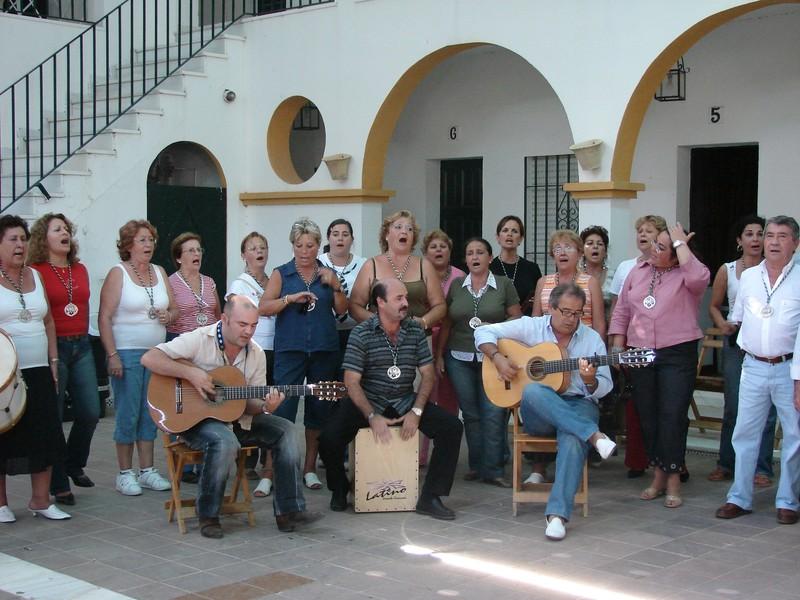 En El Rocío. Hermandad de Ayamonte