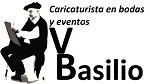 Caricaturista Basilio en su evento