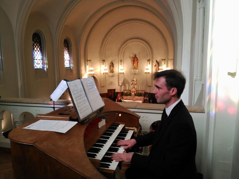 Organista Iglesia