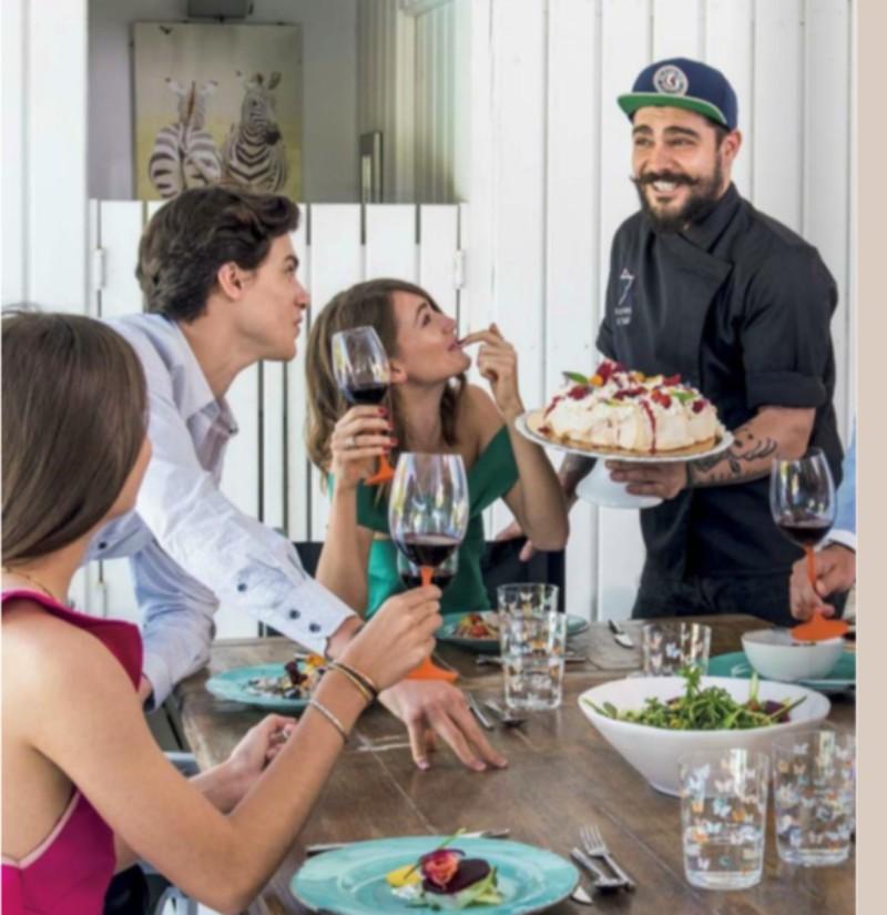 Restaurante en casa