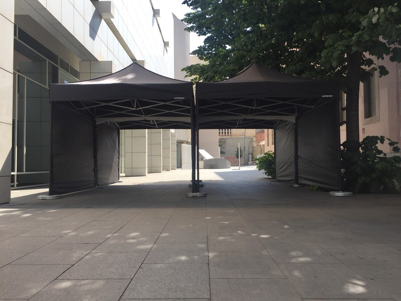 pasillo carpas 3x3