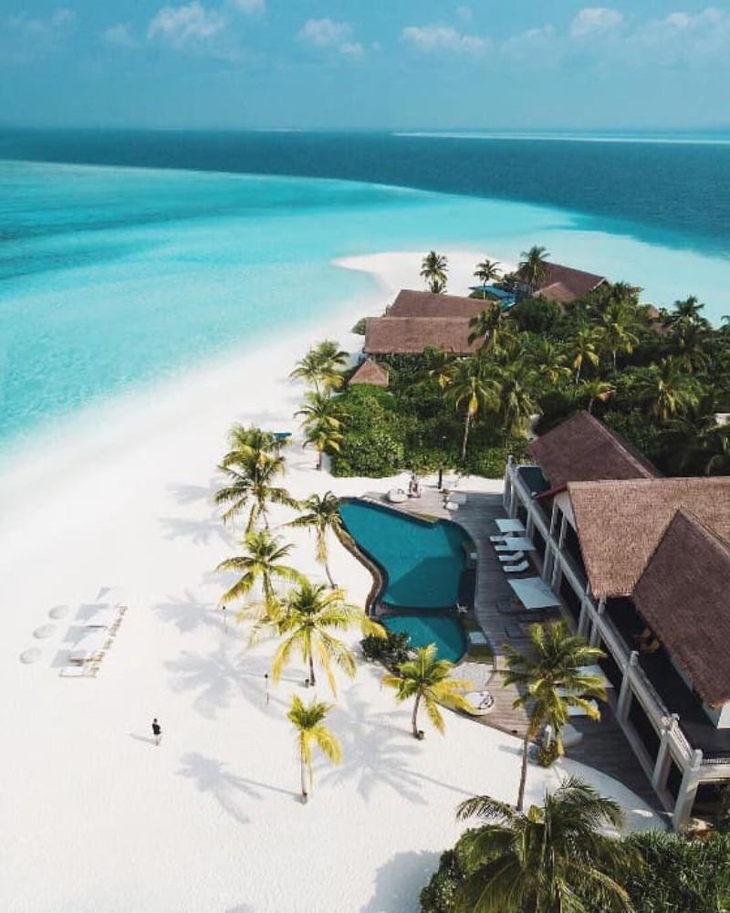 playa lujo maldivas