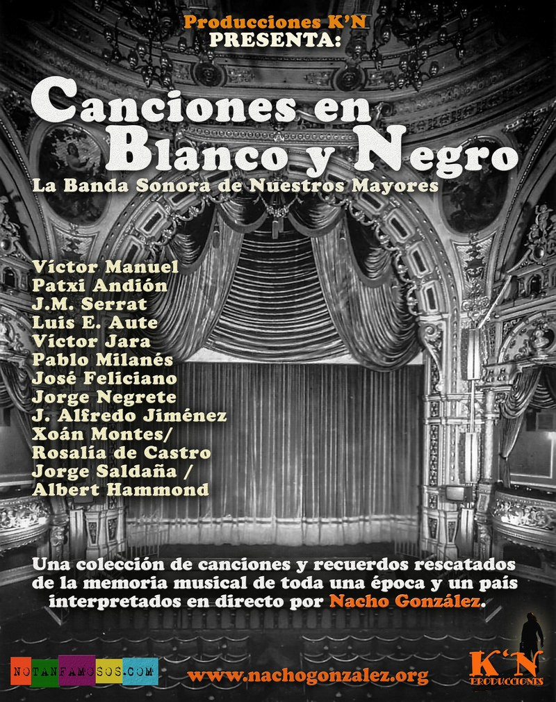 Canciones en Blanco y Negro