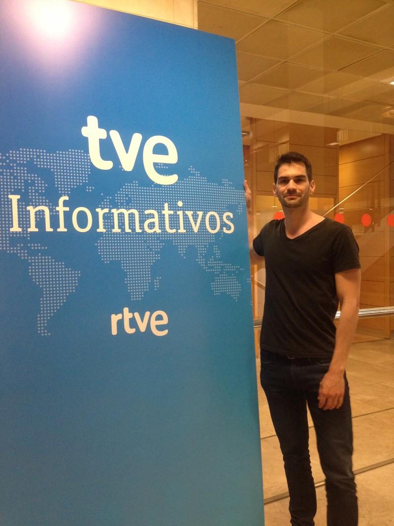 Interpretación simultánea en cabina, estudios de RTVE