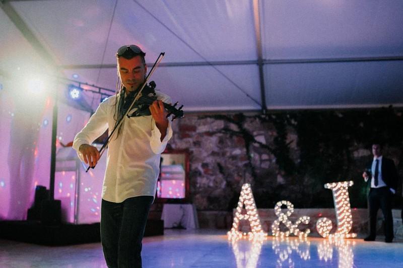 Violinista Eléctrico para Bodas