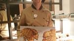 Dibujos hechos con pancakes