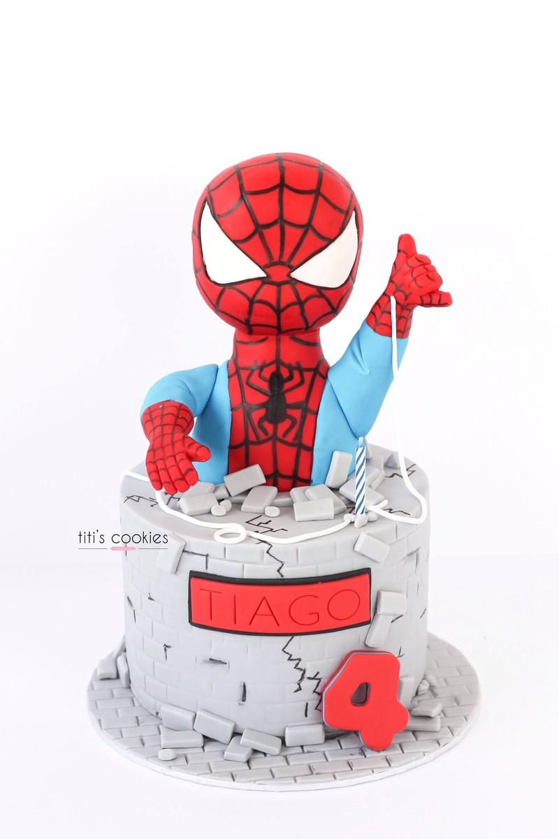 Tarta spiderman