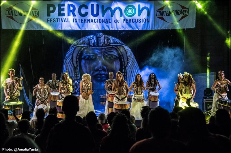 Escenario Festival Percumon