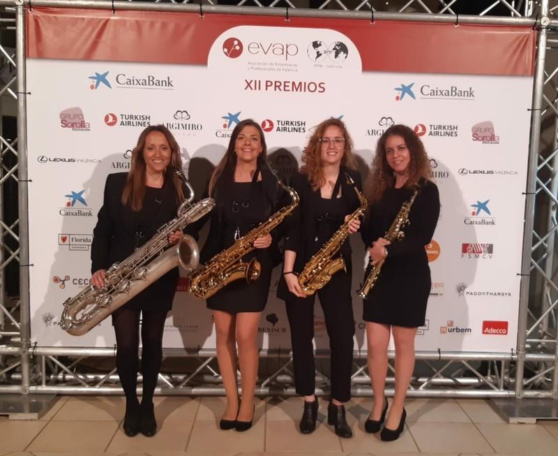 Cuarteto de saxos, Ellesax. Valencia