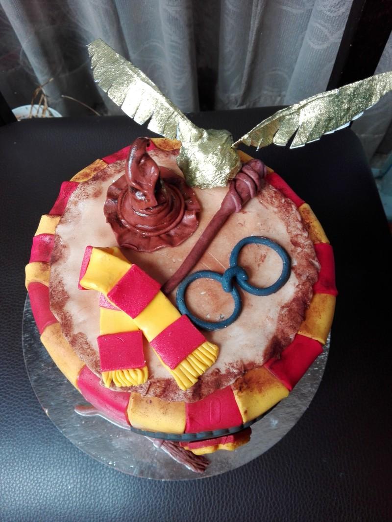 Tarta Harry potter
