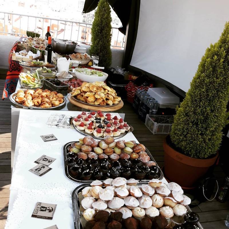 Catering 40 personas comida fria de Equipo per Empresa