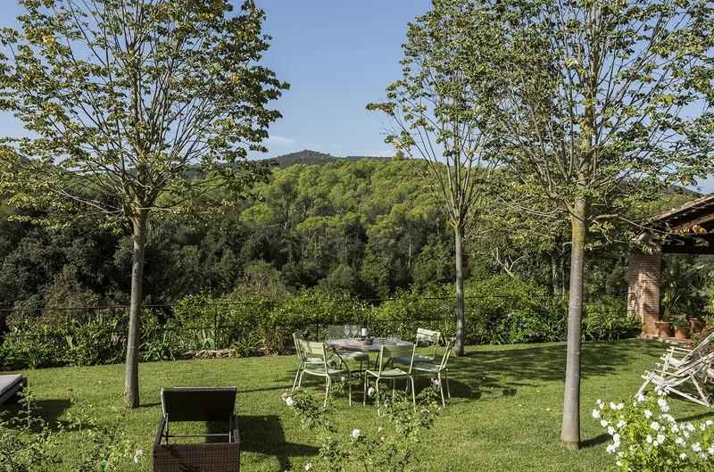Jardín y bosques Las Gavarras