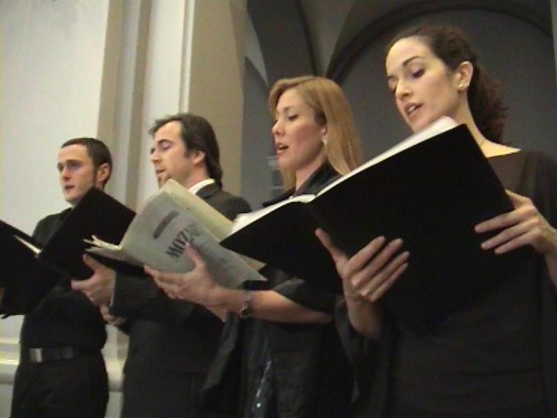 Coro en iglesia