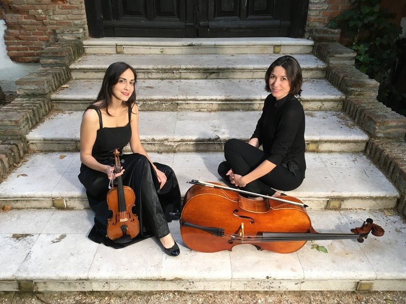 Dúo de violín y violonchelo
