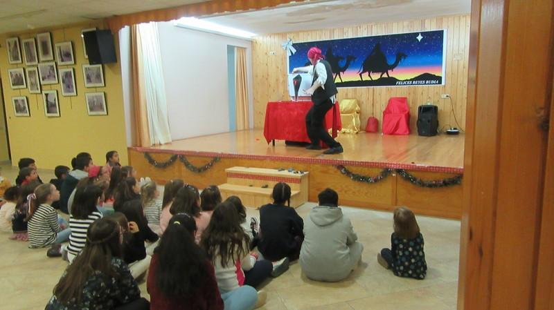 Espectáculo de magia infantil