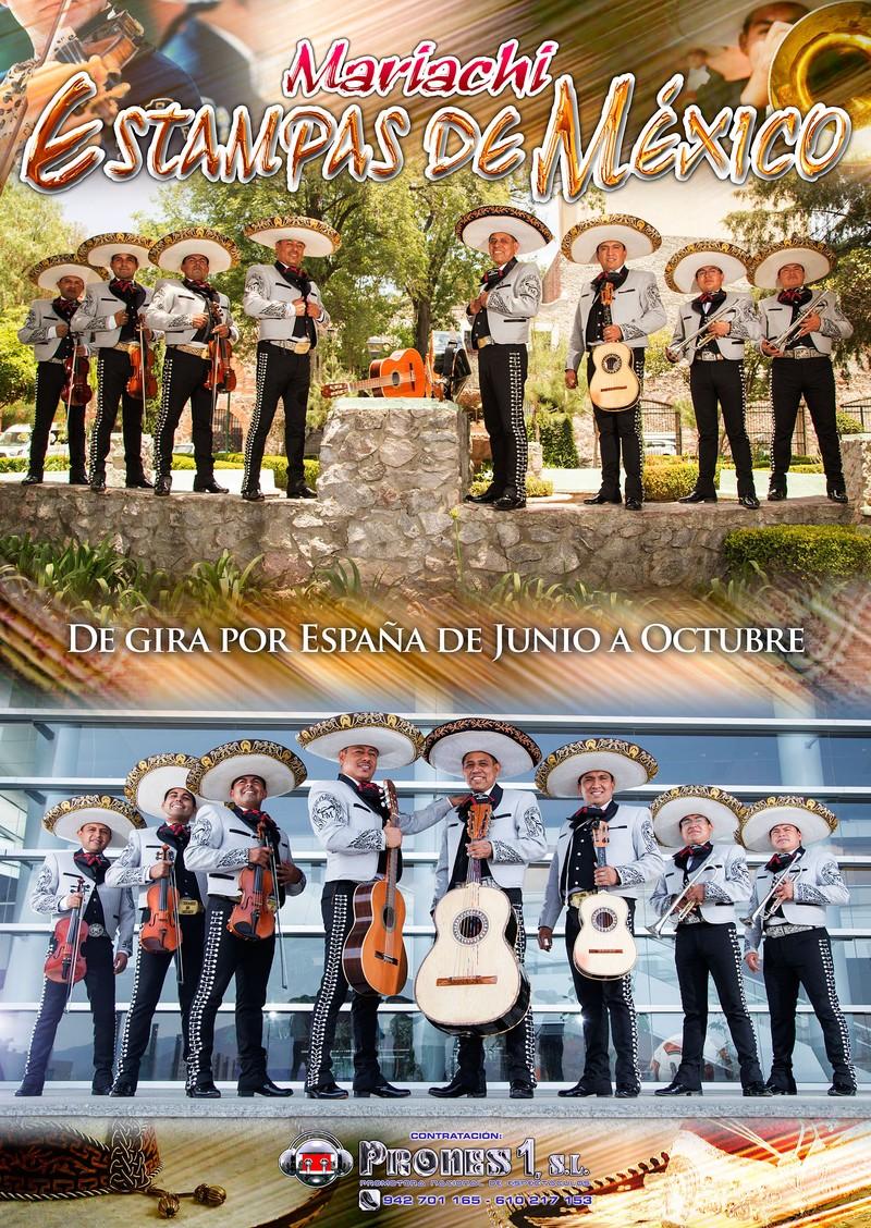 Mariachi Internacional Estampas de México