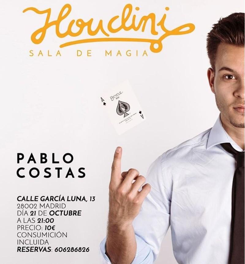 Cartel Sala Houdini