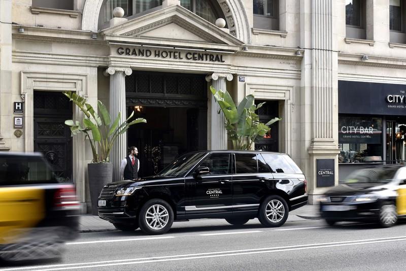 Entrada Grand Hotel Central