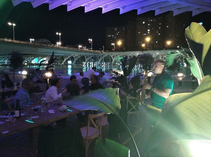 topvalenciaevents dj sax Palau de les Arts València