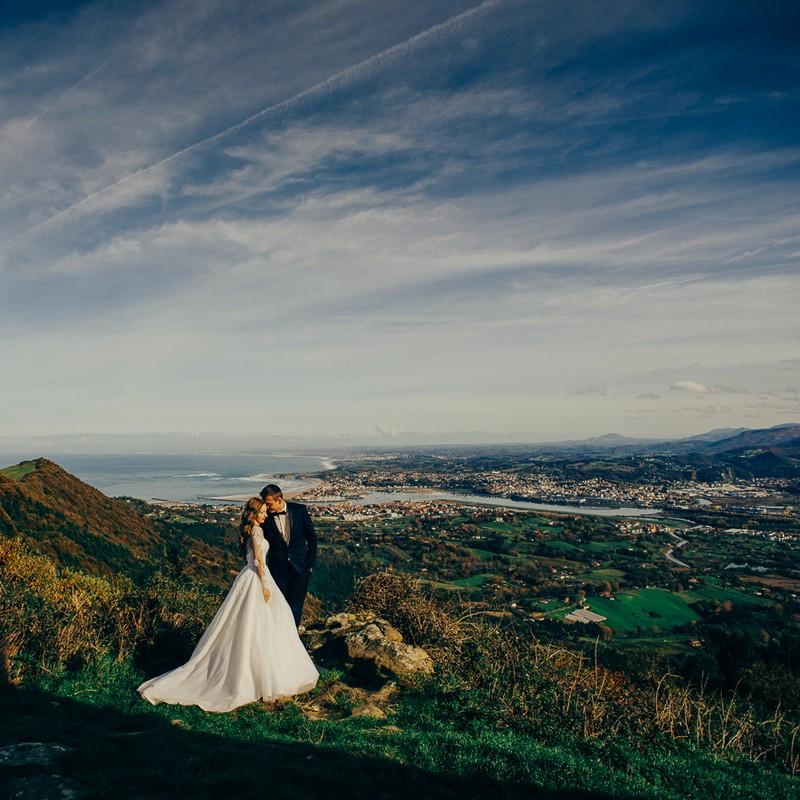 fotografia de bodas en Bilbao