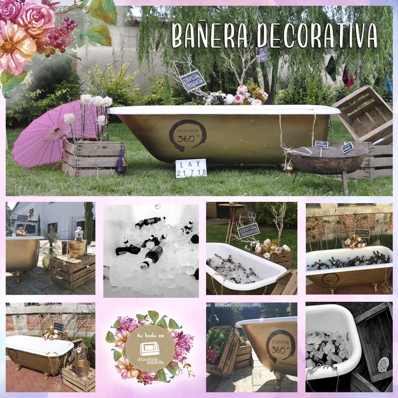Bañera decorativa