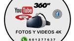 fotos y vídeos 360 grados