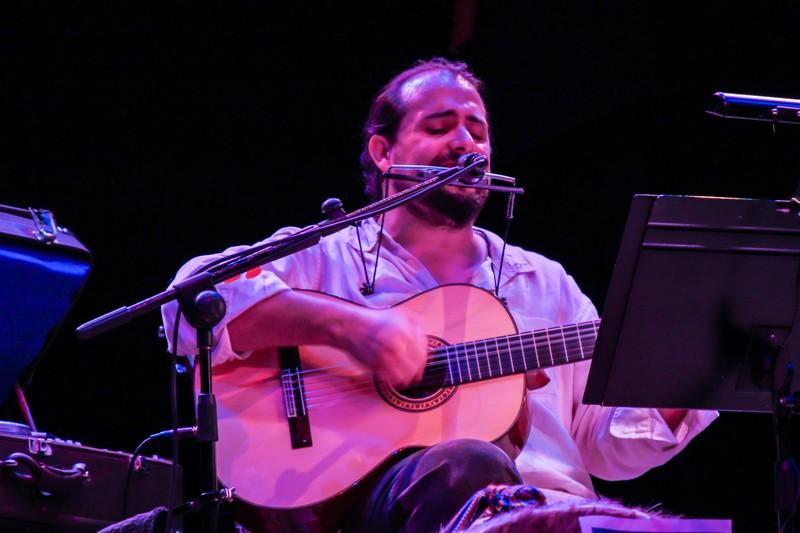 Nacho González en directo