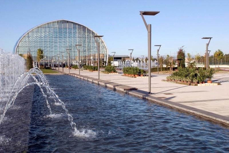 Plaza Ajardinada Feria Valencia