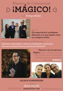 Mago Moliné presta servicio en la subcategoría de Magos en Barcelona