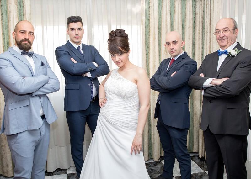 los chicos de la novia