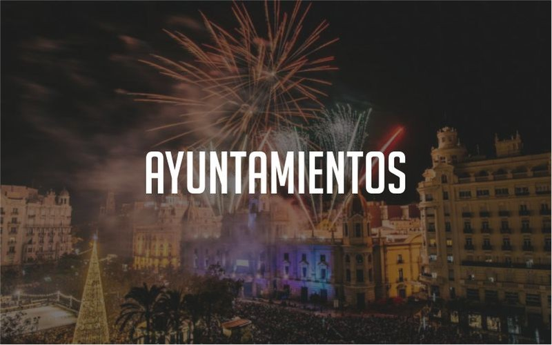 Ayuntamientos Orquestas Fuegos Artificiales Castillos Hinchables Paellas Gigante
