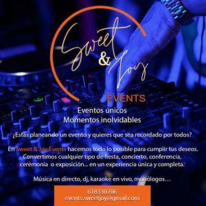 Sweet&Joy Events presta servicio en la subcategoría de Orquestas, cantantes y grupos en Madrid
