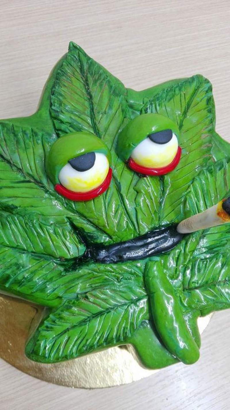 Tarta Marihuana