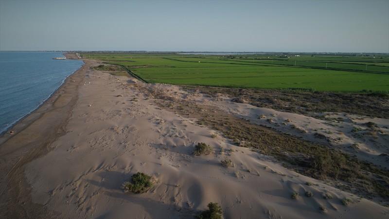 Rodaje en el Delta de l'Ebre