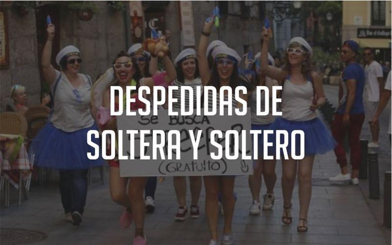 Despedidas de Soltera y Soltero Paradise Events Madrid Salamanca Gandia Malaga L