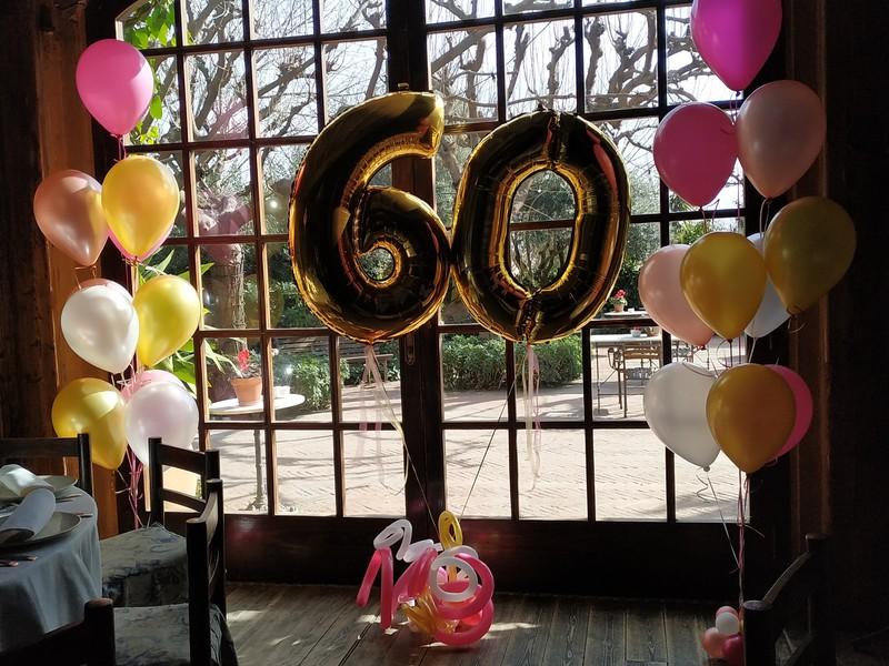 Decoración de eventos con globos
