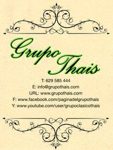 Grupo Thais presta servicio en la subcategoría de Música clásica, Ópera y Coros en A Coruña