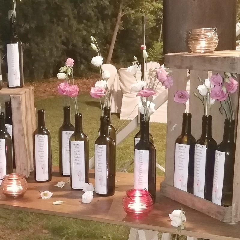 Seating plan vino