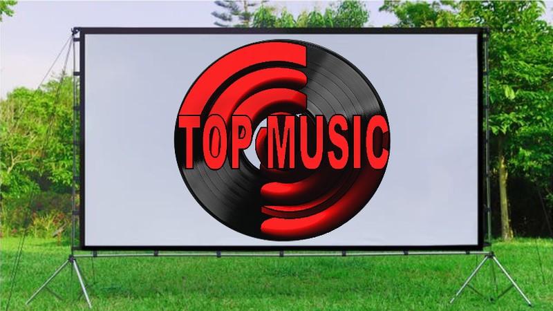 pantalla de proyector Top Music