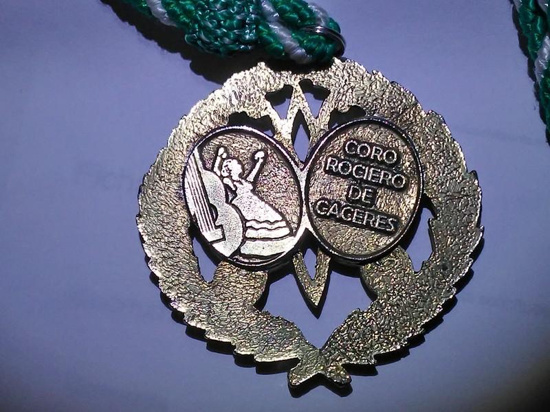 Nuestra medalla (reverso)